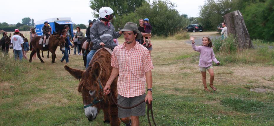 La ferme équestre du camping La campière à Saint Georges d'Oléron