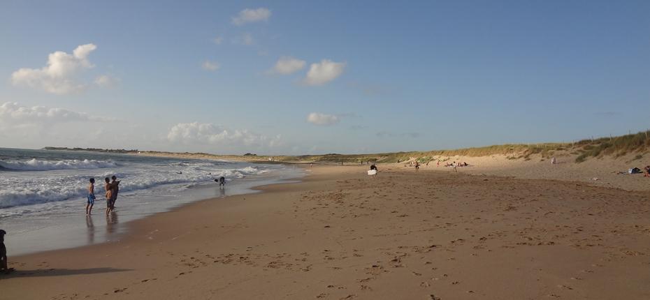 La grande plage d'Oléron à 400m du camping La Campière