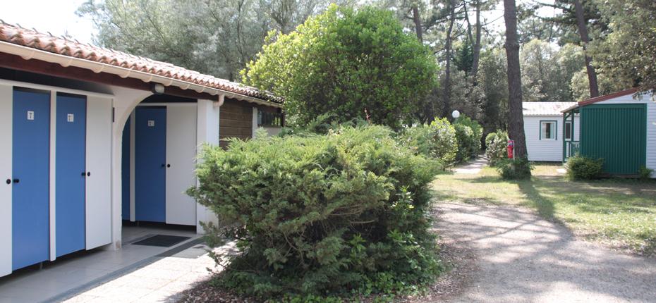 Nos sanitaires au camping sur Oléron