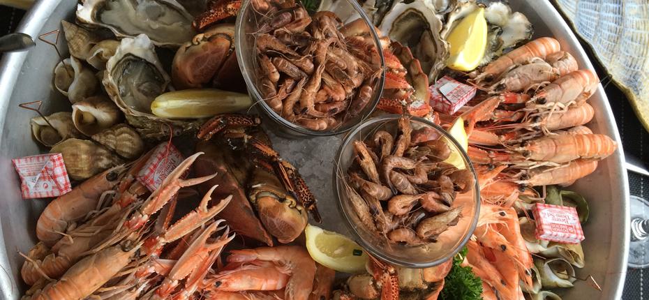 Dégustez votre plateau de fruits de mer