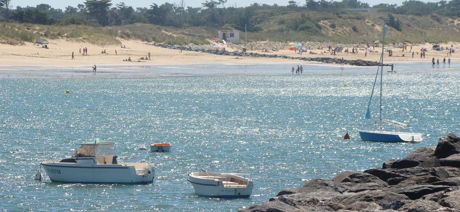 La plage de Dolus d'Oléron non loin de notre camping