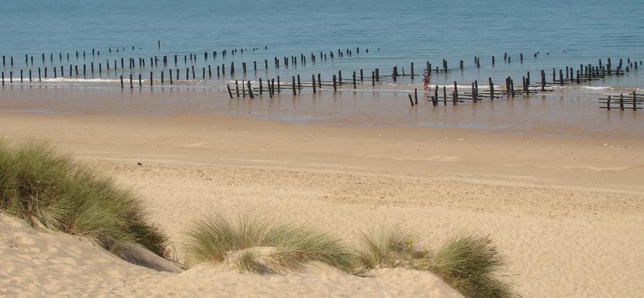 Une plage sur l'île d'Oléron