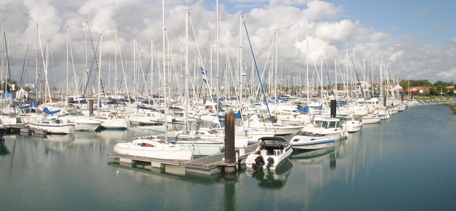 La Rochelle et le port des minimes