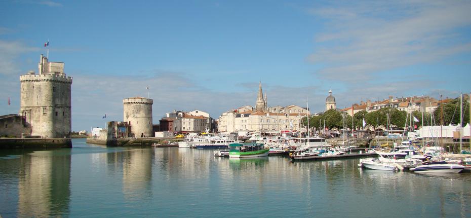 Baladez vous au vieux port de la Rochelle