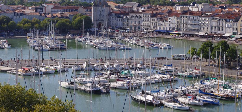 Admirez le vieux port de la Rochelle