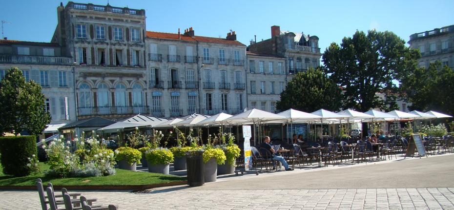 Baladez vous au centre ville de Rochefort