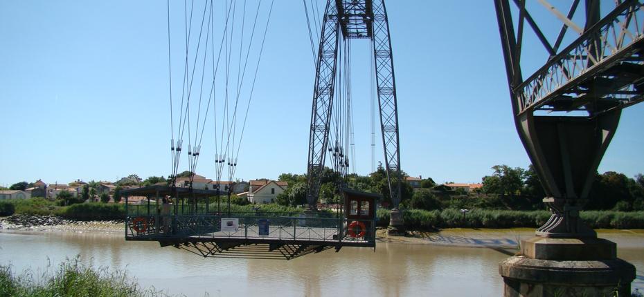 Le pont transbordeur de Rochefort