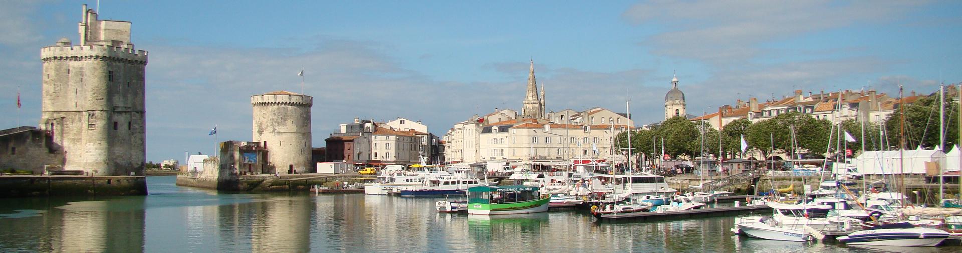 Visitez la Rochelle en Charente-Maritimes